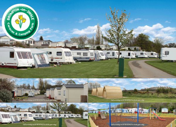 Brompton on Swale Caravan and Camping Park 14228
