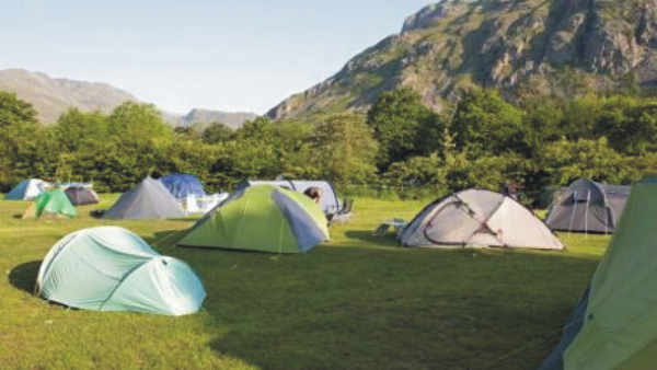 Great Langdale National Trust Campsite 8001